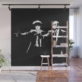 Spike Jet Knock Out - Cowboy Bebop Wall Mural
