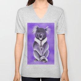 Cool Buddha Koala Unisex V-Neck