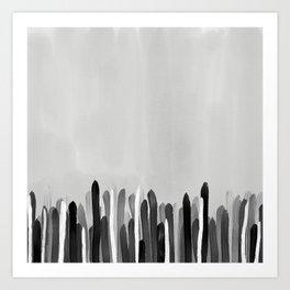 Neutral Painted Art Print