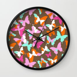 BUTTERFLY KISSES 4 Wall Clock