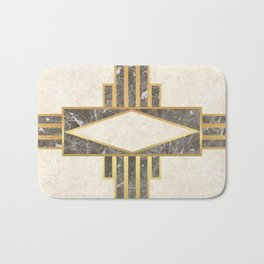 Luxurious gold and marble Bath Mat