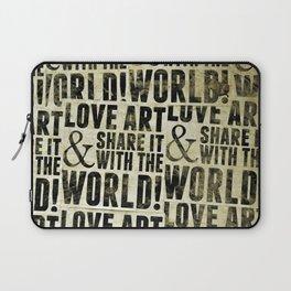 Love Art Laptop Sleeve