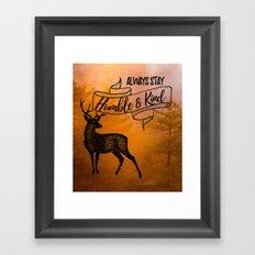 Humble & Kind Framed Art Print