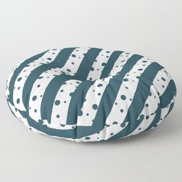 Stripes and Dots Floor Pillow