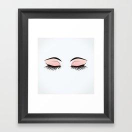 Eye Makeup Framed Art Print