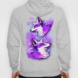 Purple Fox Spirit Hoody