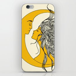 Sun and Moon iPhone Skin