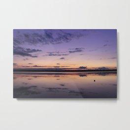 Purple Sunset Metal Print