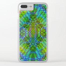 Colorful diffraction Clear iPhone Case