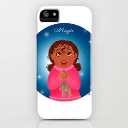 Christmas Magic - Magie de Noël iPhone Case