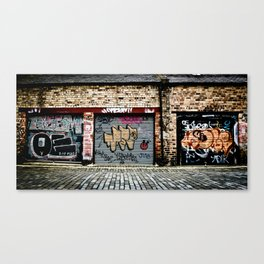 Garages Canvas Print
