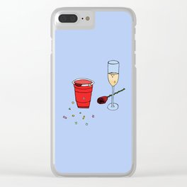 the weekend Clear iPhone Case