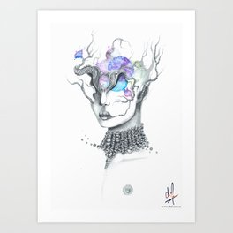Third Eye Energy Art Print