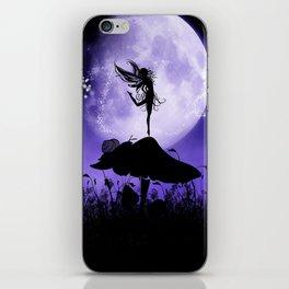 Fairy Silhouette 2 iPhone Skin