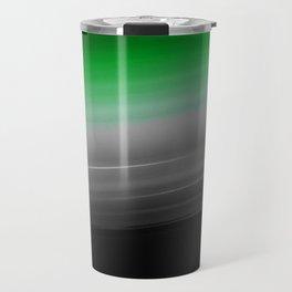 Green Gray Black Ombre Travel Mug
