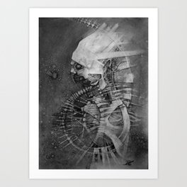 έρεβος Art Print