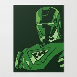 saudi iron man Canvas Print