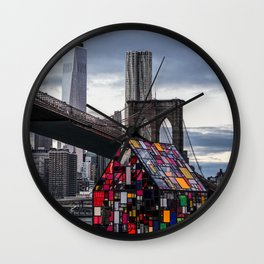 All About NYC Wall Clock