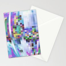 Pixelation  Stationery Cards