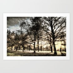 Greenwich Park London Art Art Print