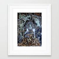 baroque Framed Art Prints featuring Baroque by Кaterina Кalinich