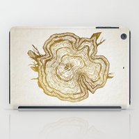 tree rings iPad Cases featuring Tree Rings by Emmy Winstead