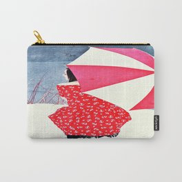 Snow Princess in Red II Carry-All Pouch