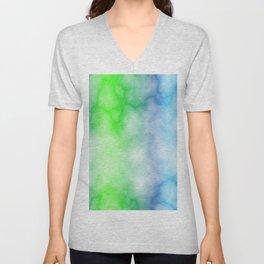 Rainbow marble texture 3 Unisex V-Neck