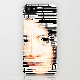 Interference (lvl2) iPhone Case