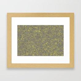 Dots Gray Framed Art Print