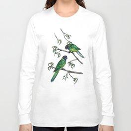 Ringneck Parrots Long Sleeve T-shirt