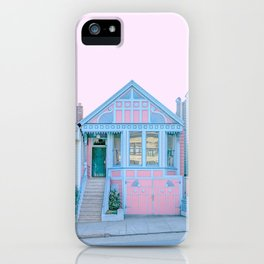 San Francisco Painted Lady Victorian House iPhone Case