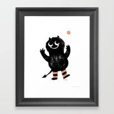 Fumble Framed Art Print