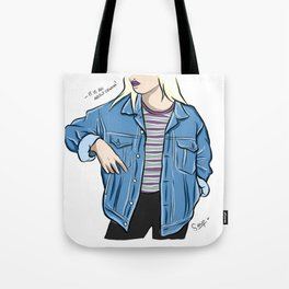 It is all about Demin! Tote Bag