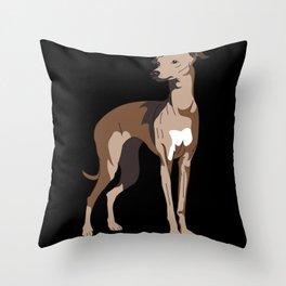 Greyhound,Greyhound  sighthound, greyhounds Throw Pillow