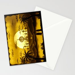 le mille e una notte Stationery Cards