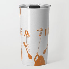 Orange Tea Time II Travel Mug