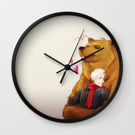 APH: 2pBear hug Wall Clock