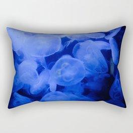 Baby Royal Blue Rectangular Pillow