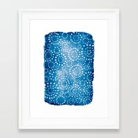 batik Framed Art Prints featuring Batik by ReneePulve