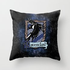 Ravenclaw team flag emblem iPhone 4 4s 5 5c, ipod, ipad, pillow case, tshirt and mugs Throw Pillow