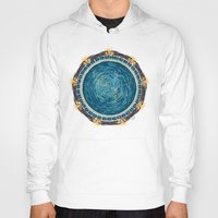 stargate Hoodies featuring Starry Gate by girardin27