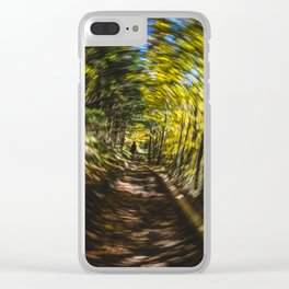 Spinning Around the Nature Clear iPhone Case