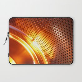 Orange machine abstract Laptop Sleeve