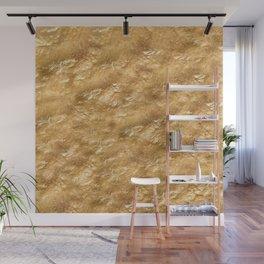 Golden foil Wall Mural