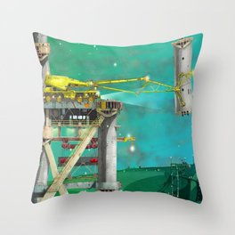 Loading Bay Throw Pillow