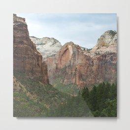 Let's Never Part - Zion Valley Utah Metal Print