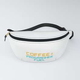 Computer Programming Coffee Programmer Fuel Programmers Fanny Pack