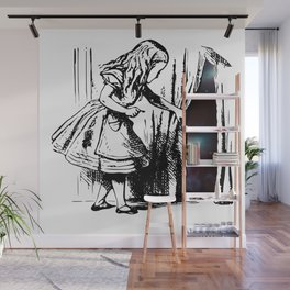 Alice Discovers the Universe Wall Mural
