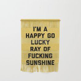 Ray Of Sunshine Funny Quote Wall Hanging